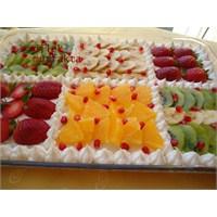 Gazozlu- Meyveli Pasta