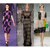 2012 Sonbahar Kış Moda Trendleri: Dantel Aplikler