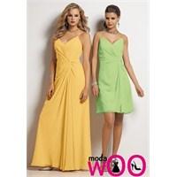 Uzun Elbise Modelleri 2013