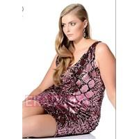 2014 Büyük Beden Abiye Elbise Modelleri