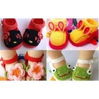 Bebek-çocuk Örgü Giyim Modelleri 2013