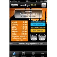 İphone İçin 2012 Ramazan İmsakiyesi Çıktı