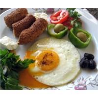 Nursevince Sahanda Yumurta Nasıl Pişirilir?