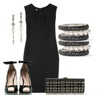 Modası Geçmeyen Moda Siyah Elbise