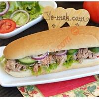 Ton Balıklı Sandviç (Resimli Anlatım)