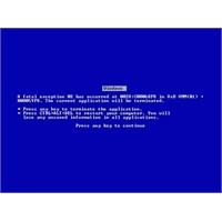 Mavi Ekranlı Hatalarda Ne Yapılmalı?