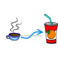 Kahveden Meyve Suyuna