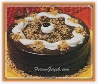 Kağıt Helvadan Çikolatalı Pasta (6kişilik)