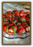 Kırmızı Biberli Peynirli Salata