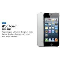 Apple, 16gb'lık İpod Touch'ı Resmi Olarak Tanıttı!