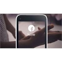 Galaxy S4 Ve Htc One'a Facebook Home Geliyor...