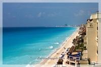 Maya Sahili İle Ünlü Cancun Adası (meksika)