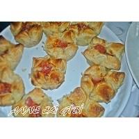 Salamı, Kaşar Peynirli Milföy Çanakları