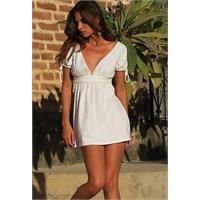 En Beğeniler Beyaz Elbiseler