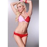 2013 Koleksiyonu Kırmızı Bikini Modelleri