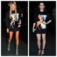 Givenchy İlkbahar/yaz 2014 Defilesi'nde Pişti!