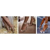 2014 – 2015 Açık Gelin Ayakkabısı Modelleri