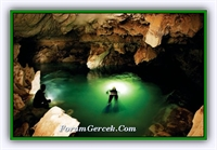 Burdur da İnsuyu Mağarası