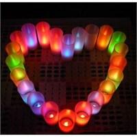 Renk Değiştiren Led Mum Color Changing Led Candle