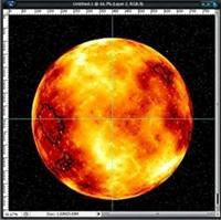Photoshop İle Güneş Yapımı