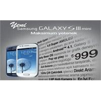 Turkcell Samsung Galaxy S3 Mini Kampanyası