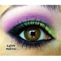 Rengarenk Göz Makyajı Nasıl Yapılır?