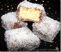 Çikolatalı Lamington