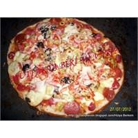Ramazan Pidesinden Karışık Pizza