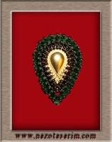 Altın Ortalı Kristal Yüzük