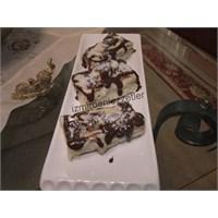 Çikolata Soslu Milföy Pasta
