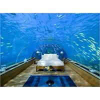 Su Altında Yatak Odası/ Maldivler