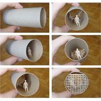Tuvalet Kağıdının Rulosuna Ne Yapmış Lar Böyle