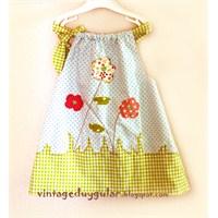 Bahar Temalı Tunik / Elbise