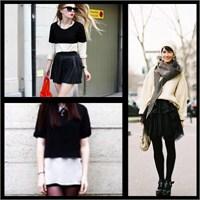 Monokrom; Siyah Beyaz Modası