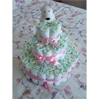 Bebek Bezi Pastası Yapımı