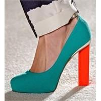 2012 İlkbahar- Yaz Ayakkabı Trendleri