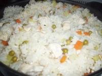 Garnitürlü Tavuklu Pilav