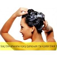 Saç Dökülmesine Karşı Şampuan Ne Kadar Etkili ?
