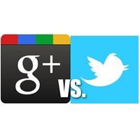 Google+ Twitter 'ı Geride Bırakmayı Başardı