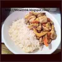 Öğrenci İşi Yemek Tarifleri: Sebzeli Hindi Sote