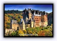 Almanya da Burg Eltz Kalesi
