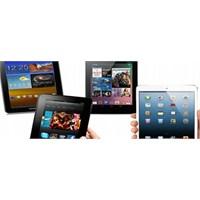 Tablet Pazarı Apple Egemenliğinde