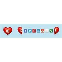 Blogger'a Kalpli Siteyi Paylaş Butonları Ekleyin