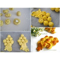Peynirli Üzüm Poğaçalar...Disalce