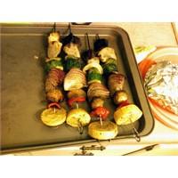 Diyet Sebze Kebabı
