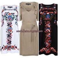 Yaz için harika elbise modeleri