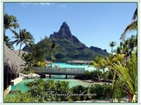 Karayip Denizi nde Bir Ada Ülkesi: Bora Bora