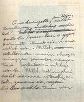 Atatürk un Sahsi El Yazmasi Notlari
