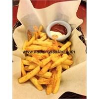 Baharatlı Çıtır Çıtır Patates Kızartması