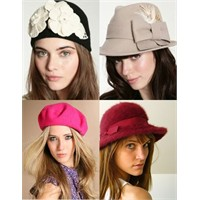 Bayan Şapka Modelleri